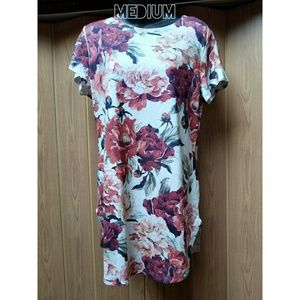 Floral Long Top or Dress